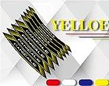 Adhesivo decorativo reflectante para moto, color anillo interior, para Panigale v4 1199959 1299899