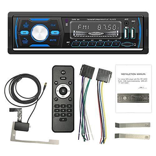 Ctzrzyt Radio del Coche Reproductor EstéReo TeléFono AUX-IN MP3 Dab / / FM/USB / 1 DIN/Control Remoto Solo para Europa