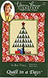 In the Pines Quilt Pattern by Eleanor Burns from Quilt in a Day