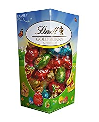 Fine Belgian Lindt Chocolate Easter Bunnies and Egg Selection