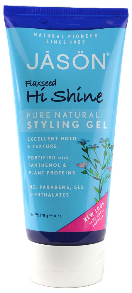 Clearance SALE Limited time JASON Flaxseed Hi-Shine Ranking TOP6 Styling Gel 6 Tubes Pack 2 Ounce of