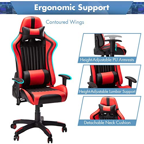 SLYPNOS Gaming Stuhl Racing Stuhl Bild 4*