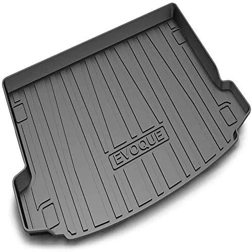 XIAOSHI Macchina Tappetini Bagagliaio Tappeto Protezione Vasca Baule, per Range Rover Evoque 2014-2020 Auto Tronco Accessori Decorazione, Gomma