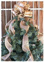 Best rustic bow tree topper Reviews
