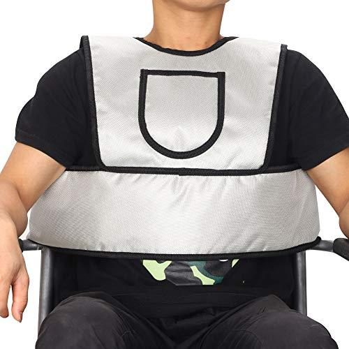 HNYG Wheelchair Vest Restraint Medical Chest Harness, Adjustable Wheelchair Seatbelt Chair Restraints for Elderly, Seat Belt for Wheelchair Restraints, Wheelchair Safety Harness