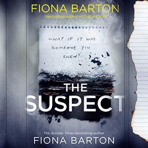<i>The Suspect</i> by Fiona Barton