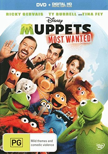 Muppets - Most Wanted [DVD + DC] [NON-USA Format / PAL / Region 4 Import - Australia]