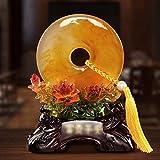 Yxsd Adornos Regalos de Boda Escultura Soporte de TV decoración casera Creativa de la Sala gabinete del Vino Decoración Artesanía (Color : A)
