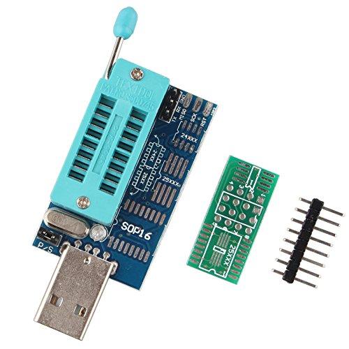 haljia Multifunktions ch341a 2425Serie EEPROM Flash Bios Board Router DVD LCD Brenner USB-Programmer