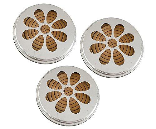 Esschert Design 3 x 10 Citronella Rauchspiralen mit Halter Citronella-Duft
