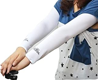 Sunny Hill UV Protection Cooler Arm Sleeves for Bike/Hiking/Golf
