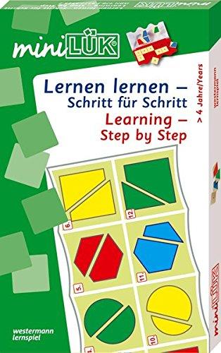 miniLÜK-Sets / Kasten + Übungsheft/e: miniLÜK-Sets / miniLÜK-Set: Kasten + Übungsheft/e / Kindergarten/Vorschule: Lernen lernen