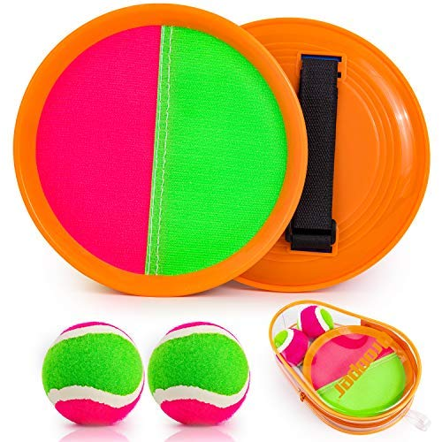 (43% OFF) Toss & Catch Game 2 Paddles & 2 Balls $8.49 – Coupon Code