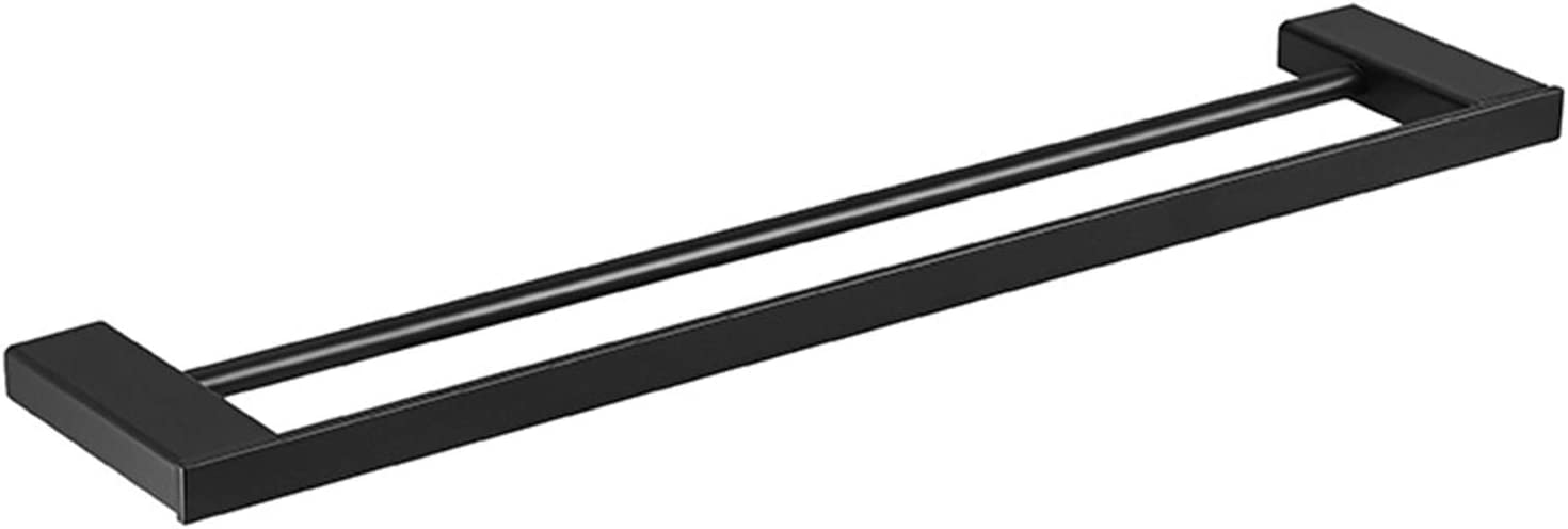 Double Pole Towel Rack Stainless Courier shipping Sales of SALE items from new works free Steel Bar Saving Space