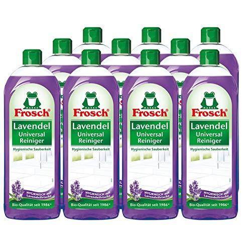 Frosch Lavendel Universal-Reiniger 10er Pack, (10x750ml)