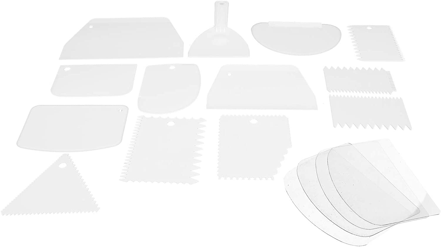 Cream Challenge the lowest price of Japan Scraper Now on sale Dough Cutter Smoother Plastic Cake
