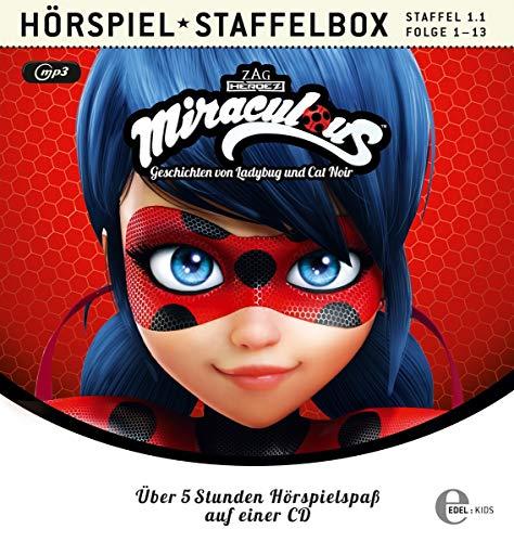 Miraculous - Geschichten von Ladybug & Cat Noir- mp3-Staffelbox 1.1 (Folgen 1 - 13) - Das Original-Hörspiel zur TV-Serie