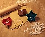 Keksausstecher Keks-Ausstecher Set mit Beschriftung tolle Geschenkidee