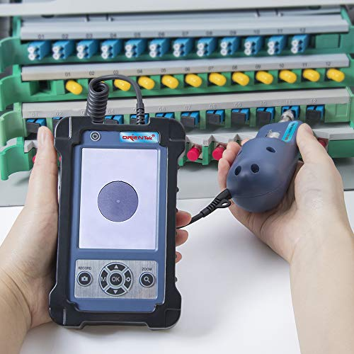 ORIENTEK TIP-600V Fiber Optic Inspection Scope Fiber Optic Instpector Video Inspection Probe + Microscope DHL/FDEX/UPS