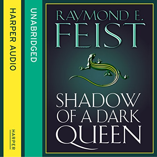 Shadow of a Dark Queen audiobook cover art