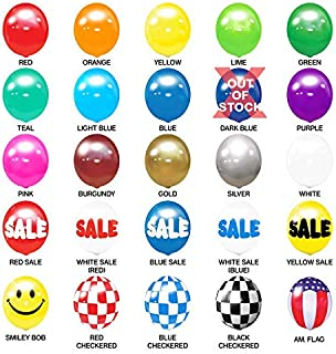 Balloon Bobber - Seamed Reusable Helium Free Replacement Balloons (5-Pack) - Plastic Outdoor Balloons