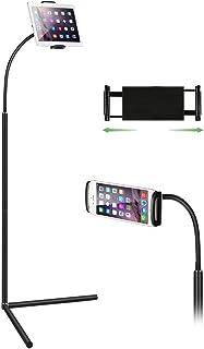 Tablet Floor Stand, Gooseneck Long Arm Cell Phone Holder Mou