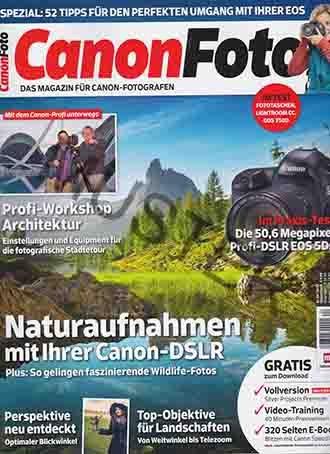 Canon Foto - Heft 12, 04 / 2015 - Naturaufnahmen Mit Ihrer Canon-DSLR. Plus: So Gelingen Faszinierende Wildlife-Fotos