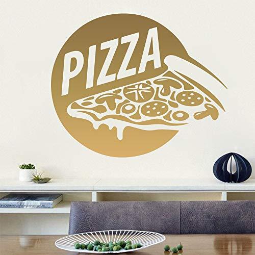 BailongXiao Cartoon Pizza wandaufkleber Dekoration zubehör Kinder wandaufkleber dekorative Accessoires wandbilder 30x36 cm