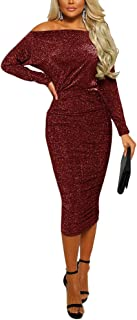Women's Rhinestone See Through Mesh Sheer Dress Evening Maxi Dress Gown