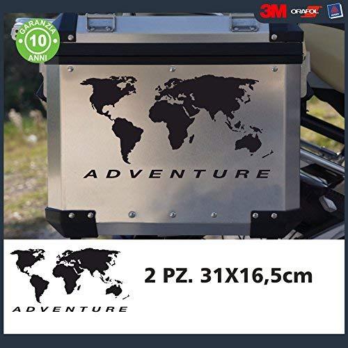 Custom Vinyl Pack 2 Pegatinas Globo Adventure
