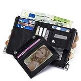 Zoom IMG-1 teuen portafoglio uomo con catena