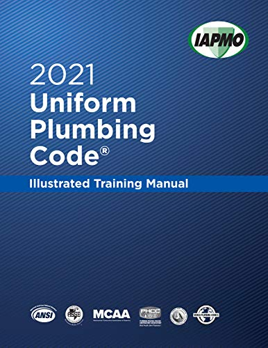 2021 Uniform Plumbing Code Illustrated Training Manual with Tabs