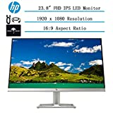 2020 Newest HP 23 23.8' Full HD 1080p IPS LED Micro-Edge Monitor for Business and Student,Tilt,...