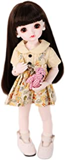 BJD Dolls, Princess Doll, 1/6 SD Doll 10 Inch DIY Toys With Full Set Clothes Shoes Wig Makeup, 100% Handmade Beauty Toys S...