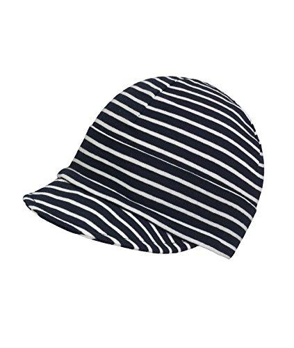 Döll Unisex Baby Schirmmütze Jersey Mütze, Blau (Total Eclipse 3000), (Herstellergröße: 55)