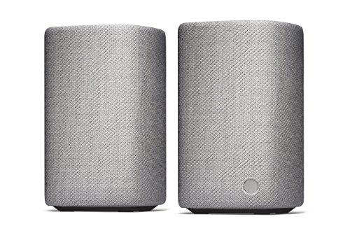 Cambridge Audio YOYO (M) Tragbare Stereo-Bluetooth-Lautsprecher (Hellgrau)