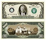American Art Classics Set of 10 - Bill Clinton Million Dollar Bill