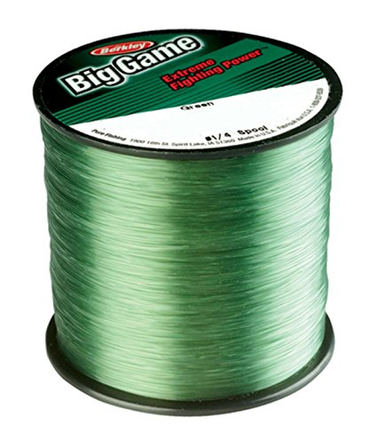 Berkley Trilene Big Game, Green, 30 Pound Test-1760 Yard