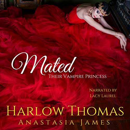 Mated: Their Vampire Princess audiobook cover art