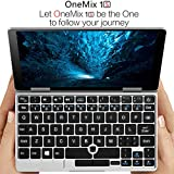 One Netbook One Mix 1S [Latest HW Update 256GB PCIE SSD] Yoga 7' Pocket Laptop Ultrabook Windows 10 Portable Mini Laptop UMPC Tablet PC Intel Celeron Processor 3965Y Dual Core 8GB RAM+2048Level Stylus