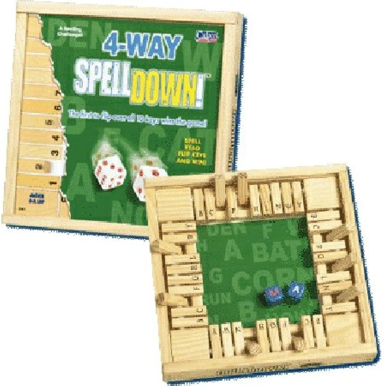 POOFSlinky 0C242 4 Way Spelldown Game
