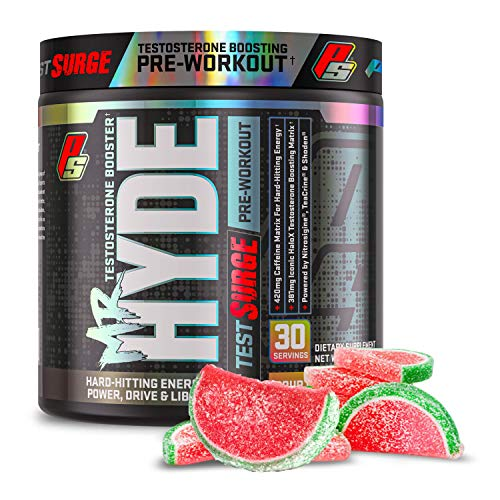 ProSupps Mr. Hyde Test Surge Pre Workout for Men and Women - High Stim...