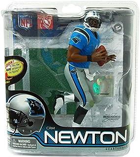 Mcfarlane Toys Nfl Sports Picks Series 28 Action Figure Cam Newton (Carolina Panthers) Blue Jersey Bronze Collector Level ...