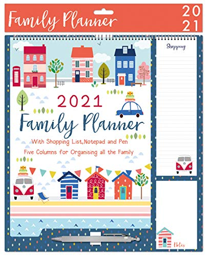 2021 Family Organiser Planner Ha...