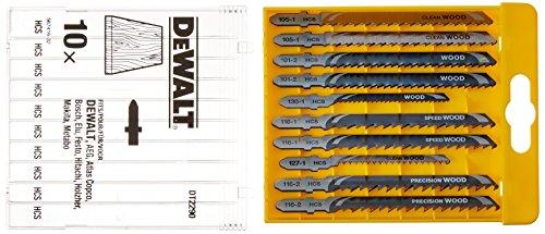 Dewalt DT2290-QZ DT2290-QZ-Conjunto 10 hojas Sierra de calar-Madera