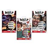 CARIOCA Set Mask Up Premium | Maquillaje Infantil Pintura de Cara para Niños y Niñas, Pintura Facial en Barra para Navidad, Halloween, Carnaval y Fiestas - Colores Brillantes, Metálicos y Neon, 18 Uds
