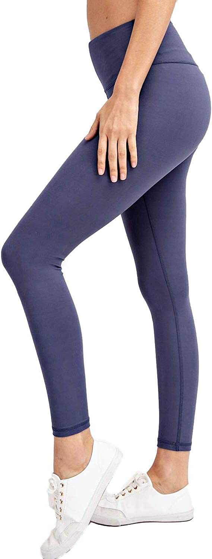 Berrypublic Full Length Yoga Pants - Tummy Control Workout Stretch Sports Leggings