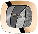 L'Oréal Paris Color Riche Quad Palette Ombretti Smoky Eyes, S11 Fascinating Silver