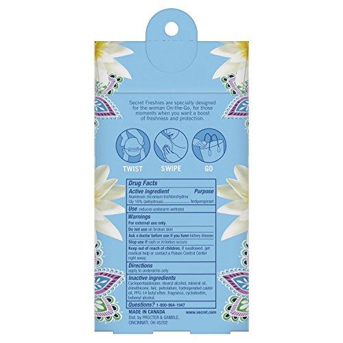 Secret Freshies Waterlily, 0.5 oz