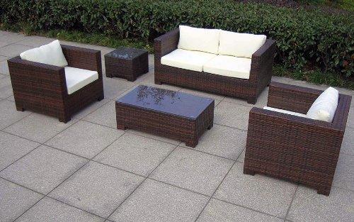 Baidani Gartenmöbel-Set Designer Lounge-Garnitur Seaside Bild 2*